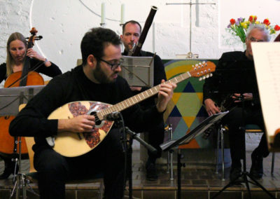 Enrico Olivanti Bouzouki - Ph: Alberto Arroyo